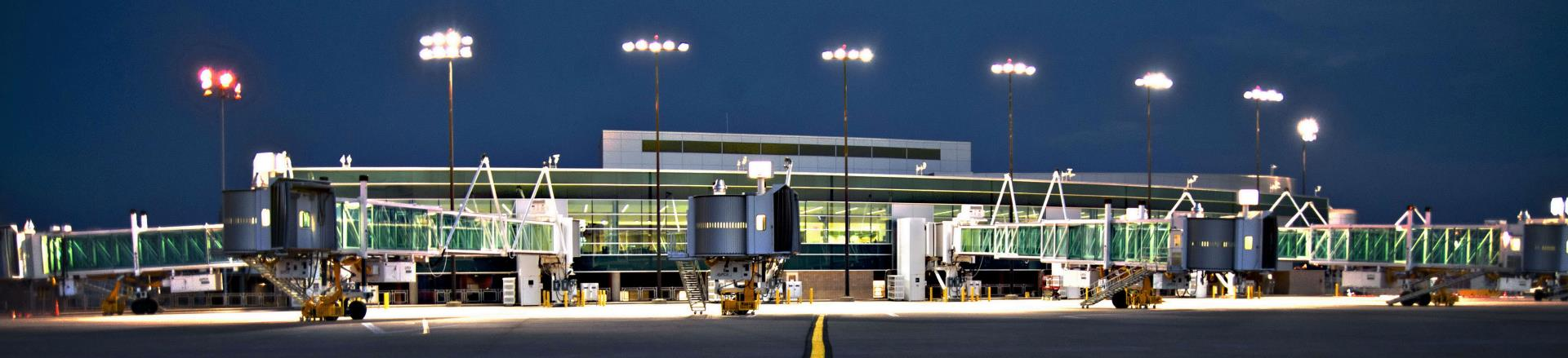 Jet Bridges and Terminal